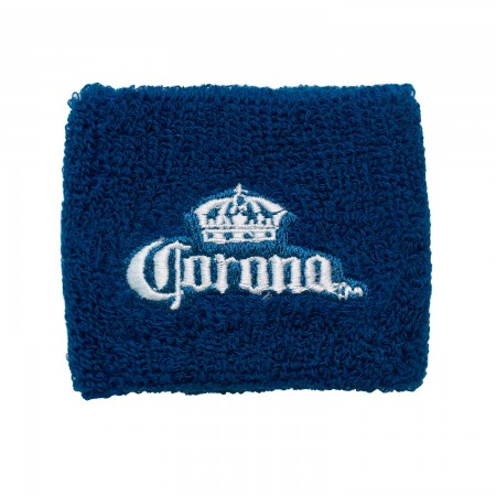 Corona Beer Terry Cloth Wrist Band
