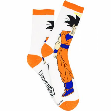 Dragon Ball Z Son Goku Character Crew Sock