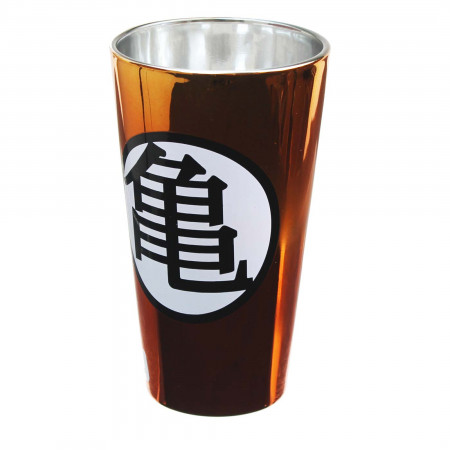 Dragonball Z Metallic Pint Glass