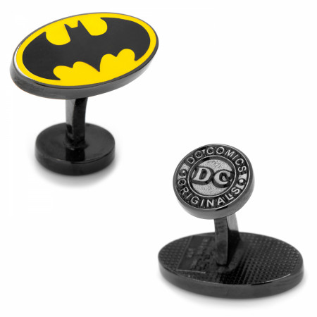 Batman Retro Logo Cufflinks