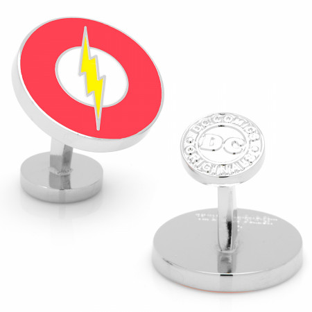 Flash Logo Classic Cufflinks