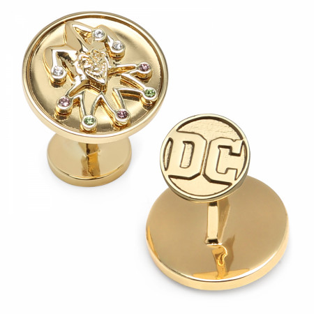 The Joker Gold Cufflinks