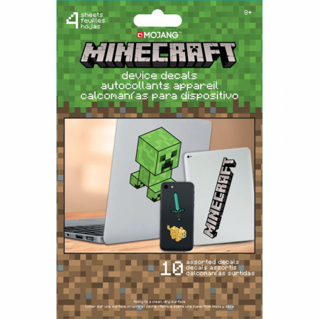 Minecraft Symbols and Character Electronic Device Decals