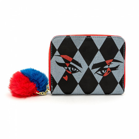 Birds of Prey Harley Quinn Eyes Wallet