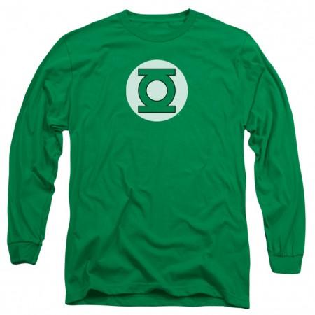 Green Lantern Logo Long Sleeve T-Shirt