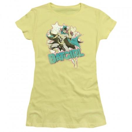 Batgirl Women's Yellow Tshirt