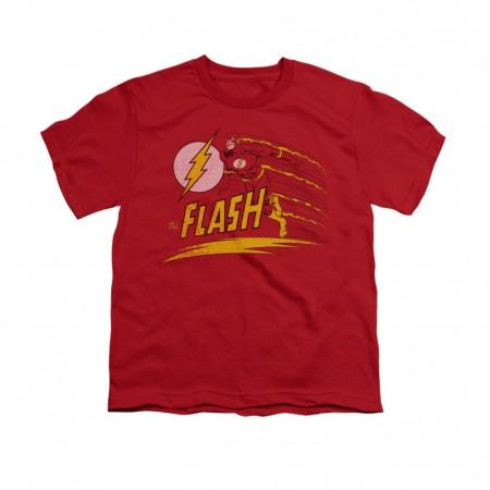 The Flash Like Lightning Red Youth Unisex T-Shirt