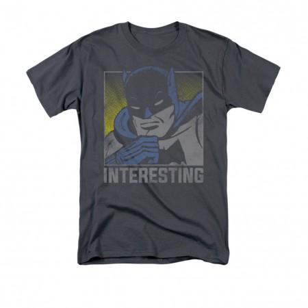 Batman Men's Gray Interesting T-Shirt