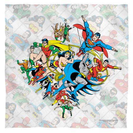 Justice League Classic Bandana