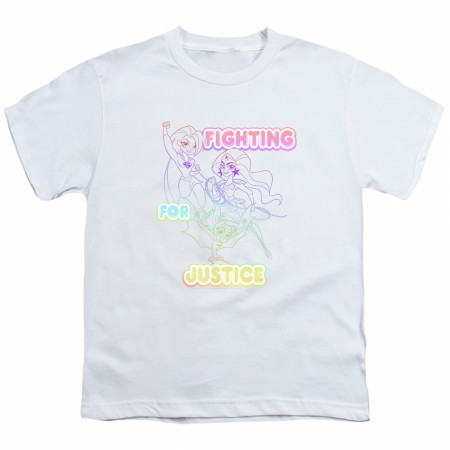 DC Super Hero Girls Fighting for Justice Youth T-Shirt