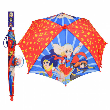 DC Girls Superheroes Youth Umbrella