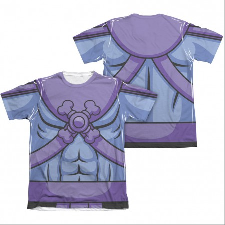 He-Man Masters Of The Universe Skeletor Two-Sided Costume Sublimation T-Shirt