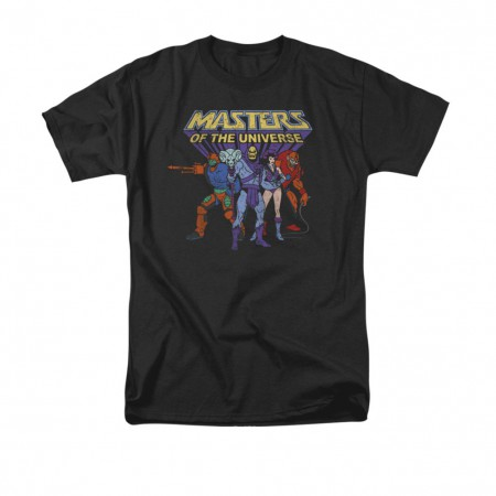 He-Man Men's Black Villains T-Shirt