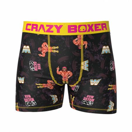 Macho Man Retro Arcade 8-Bit WWE Men's Boxer Briefs Shorts