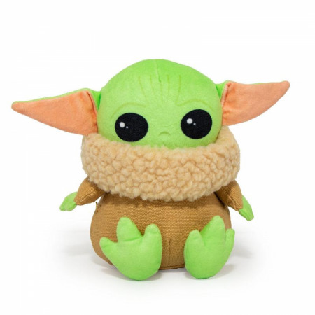 Star Wars Mandalorian The Child Plush Squeaky Dog Toy