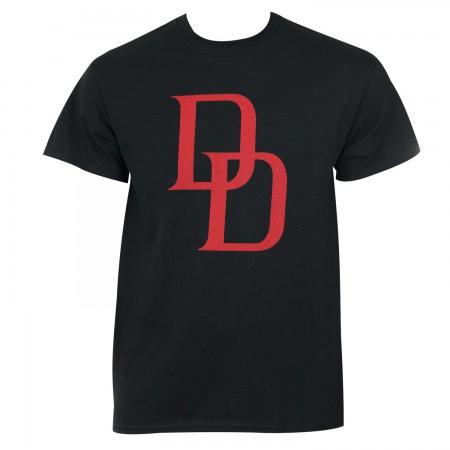Daredevil Logo Men's Black T-Shirt