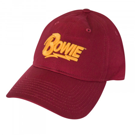 David Bowie Text Logo Hat