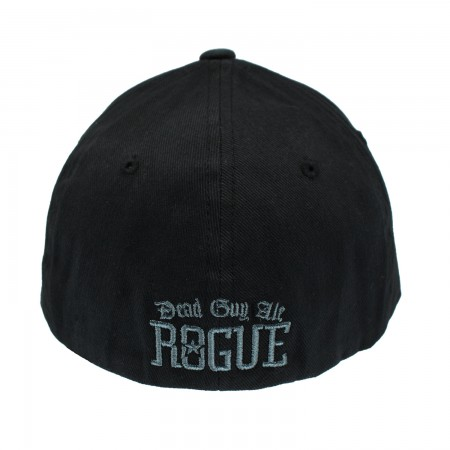 Dead Guy Embroidered Black Hat