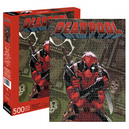 Deadpool Comic Cover 500 Piece Puzzle