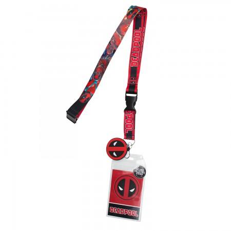 Deadpool Keychain Lanyard