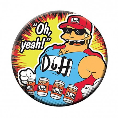 Simpsons Magnetic Duffman Bottle Opener