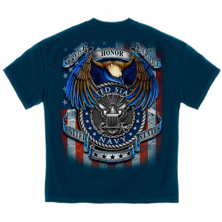 Navy Heroes Shirt - Blue