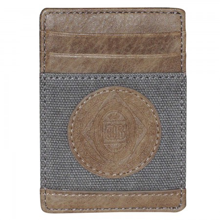 Budweiser Tan Get Away Front Pocket Wallet