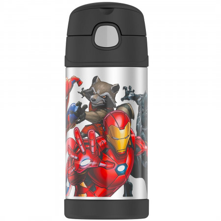 Marvel Universe 12 Oz Thermos Bottle