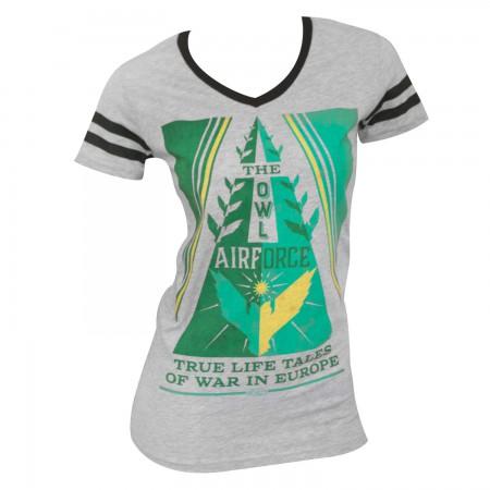 Fantastic Beasts Women's Grey Owl T-Shirt