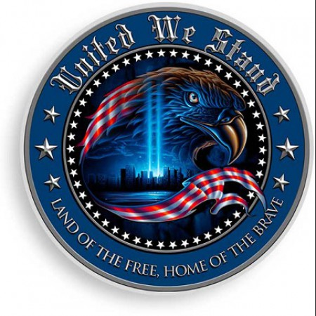 United We Stand Decal Sticker