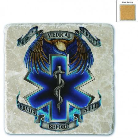 Hero's EMS Stone Coaster