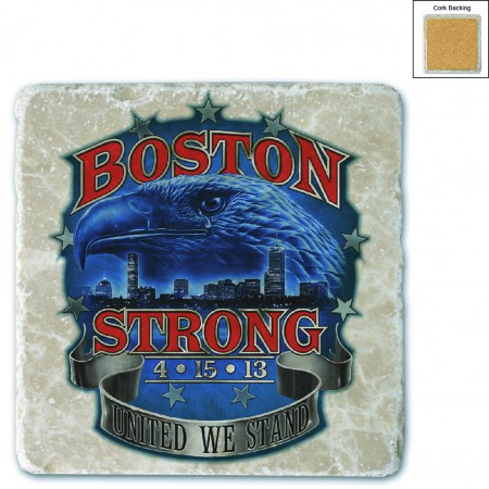 Boston Strong Stone Coaster
