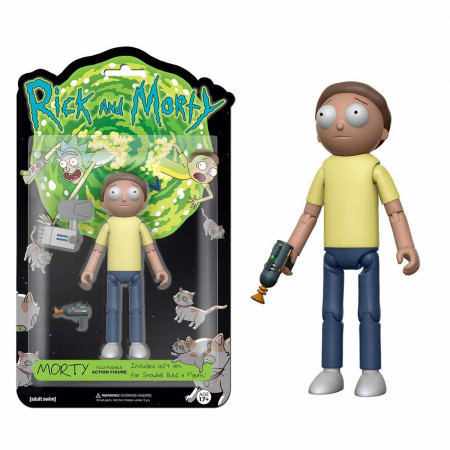 Funko Vinyl Rick And Morty Morty Action Figure