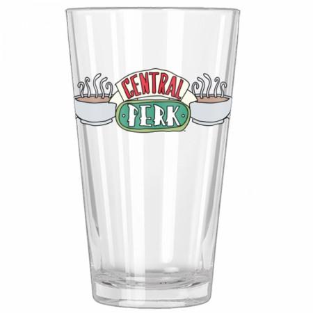 Friends TV Show Central Perk Pint Glass