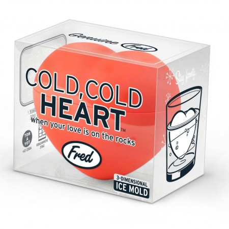 Heart FRED 3D Ice Cube Mold