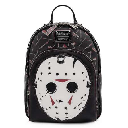 Friday The 13th Jason Mask Mini Backpack by Loungefly