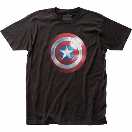 The Falcon and The Winter Soldier Series New Cap Logo T-Shirt