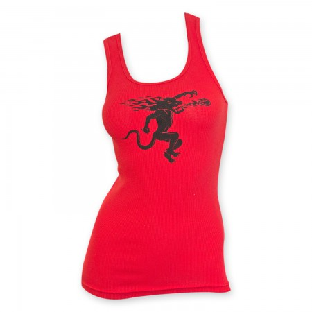 Fireball Cinnamon Whisky Women's Red Tank Top