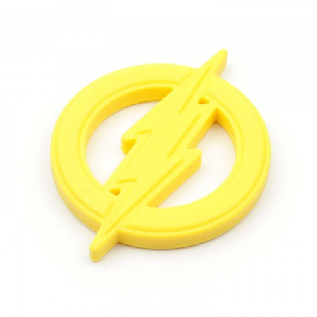 The Flash Yellow Infant Baby Teether