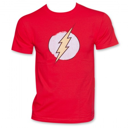 Flash Logo Red T-Shirt