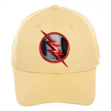 The Flash Yellow Flex Fit Hat