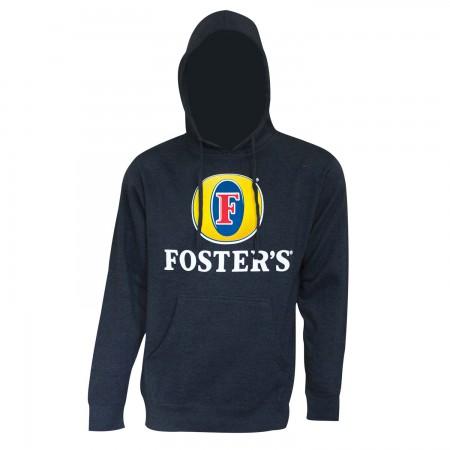 Foster's Men's Navy Blue Hoodie