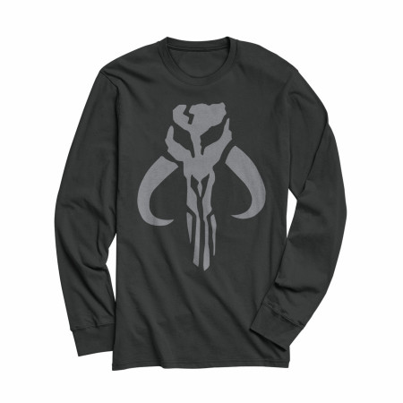 Star Wars The Mandalorian Mythosaur Logo Long Sleeve Shirt