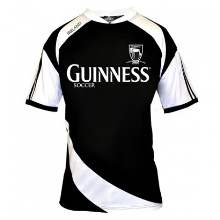 Guinness Black and White Soccer Jersey