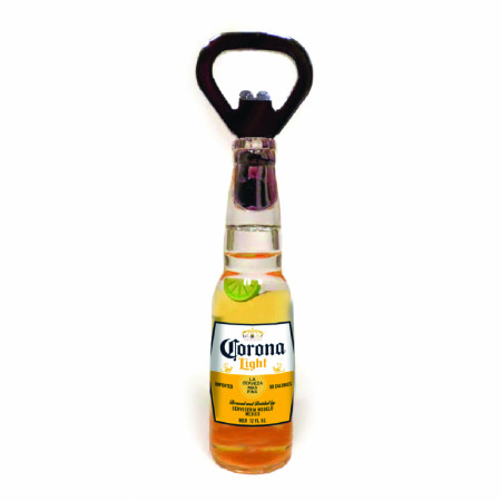 Corona Light Floating Lime Bottle Opener