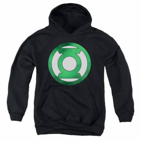 Green Lantern Logo Youth Hoodie