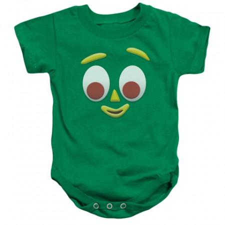 Gumby Face Onesie