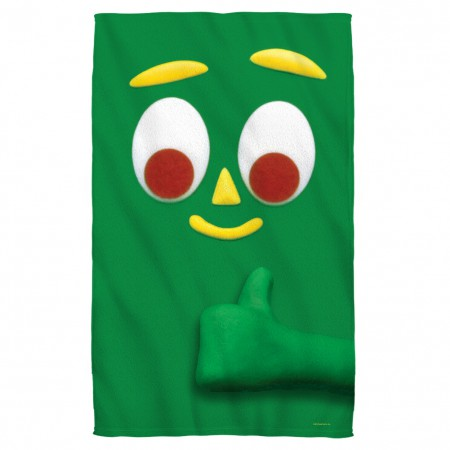 Gumby Beach Towel