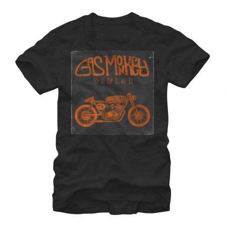 Gas Monkey Garage Cafe Black T-Shirt