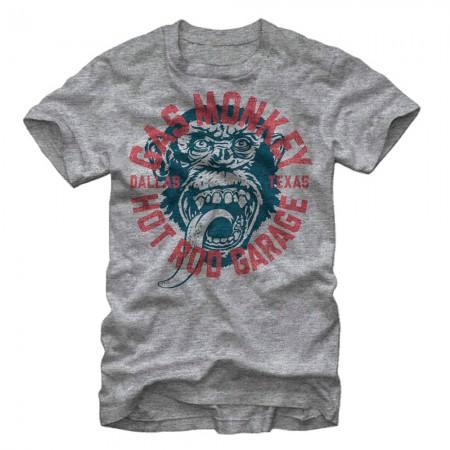 Gas Monkey Garage Business Gray T-Shirt